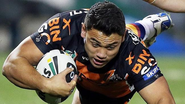 Wests Tigers winger David Nofoaluma's inspiration to succeed
