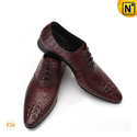 Lace-Up Leather Oxford Shoes for Men CW762410
