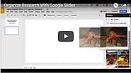 Free Technology for Teachers: How to Use Google Slides to Organize Research