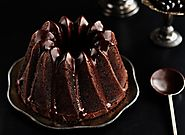 Chocolate Espresso Bunt Cake with a Dark Chocolate Glaze.