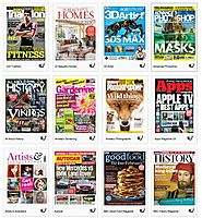 Read a magazine cover to cover on a smartphone, tablet or computer through our E-Library