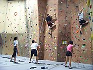 Climb an indoor rockwall