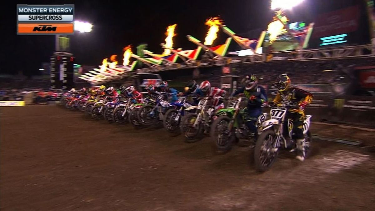 Headline for Top Ten 450SX riders