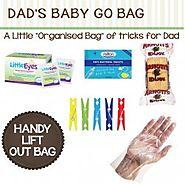 Hospital Bag for Dads