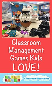 Five Classroom Management Games Kids LOVE!