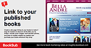 Link to your published books. Create a site page linking to your books to make it easy for readers to discover all th...