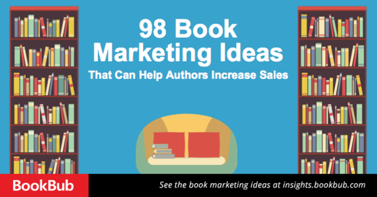 Headline for 98 Book Marketing Ideas for Authors