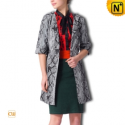 Leather Duster Coat Women uk CW610001 - cwmalls.com