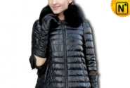 Lace Skirt Genuine Sheepskin Leather Down Coat