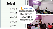 Find the best Banking Coaching Classes in Pune near you!