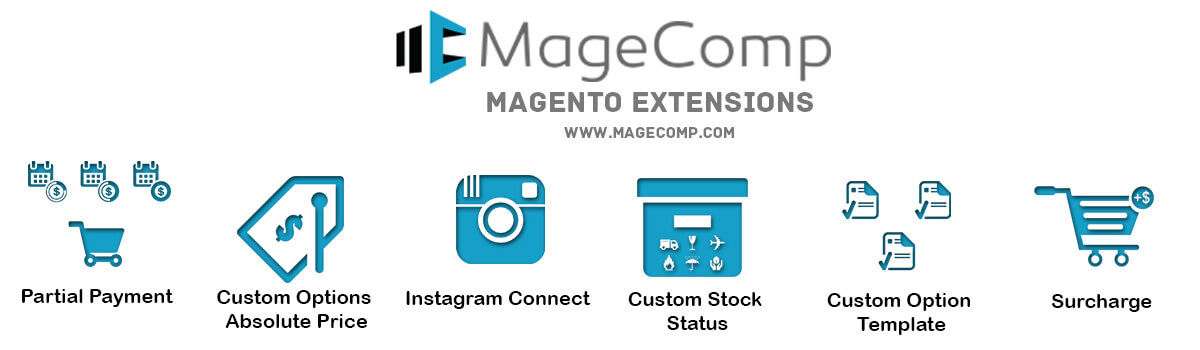 Headline for Magento Extensions by MageComp
