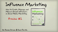 Influence Marketing Book: Teaser Trailer 1