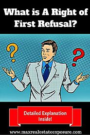 In Real Estate What is a Right of First Refusal