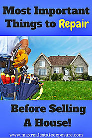 Important Things to Fix Before Selling a Home