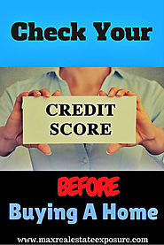 Check Credit Score Before Purchasing a Home is Important
