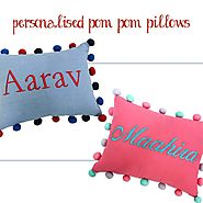 Buy Personalized pillows Sets Online at Little West Street