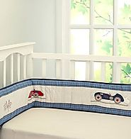 Buy Cot bumper online at Little West Street