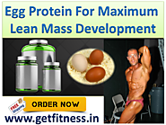 GDYNS Egg & Whey Protein Plus For Muscle Gains & Fat Loss