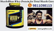Muscle Blaze Whey Protein to Blaze up Muscle Growth