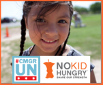 #NoKidHungry UNChallenge from #cmgrUN