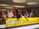 A Visit With the Subway Global Challenge Winners
