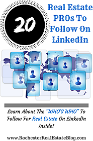 Who to Follow in The Real Estate Industry at Linkedin