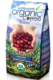 Cafe Don Pablo Gourmet Coffee Medium-Dark Roast Whole Bean, Subtle Earth Organic