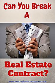 Can I Terminate My Real Estate Contract?