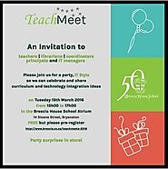 SchoolNet SA - IT's a Great Idea: Teachers, Brescia House invites you to a free party, IT style on 15th March! If you...