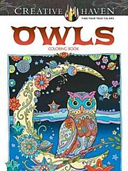 Coloring Books For Adults Owls