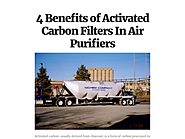 4 Benefits of Activated Carbon Filters In Air Purifiers