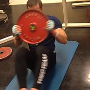 Trec Nutrition Finland: Abs exercise