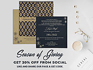 Flat 20% Off On Unique Wedding Invitations – A2zWeddingCards