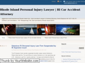 Rhode Island Personal Injury Lawyer | RI Car Accident Attorney