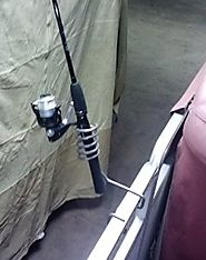 Pontoon Rail Fishing Rod Holder
