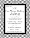 !Insights From SewCalGal: 2012 Free-Motion Quilt Challenge!Insights by SewCalGal