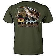 Fish Hard Or Stay Home Fishing T-shirt