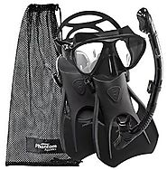 Phantom Aquatics Speed Sport Signature Mask Fin Snorkel Set