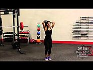 Triceps Extension with Medicine Ball