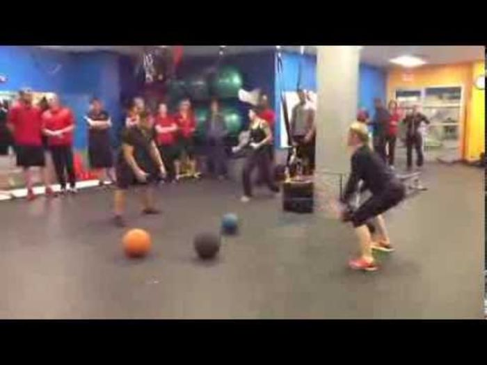 67 Med Ball Exercises In 11 Minutes