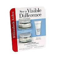 Elizabeth Arden Visible Difference Refining Moisture Complex 2x75ml plus 30ml bonus travel size