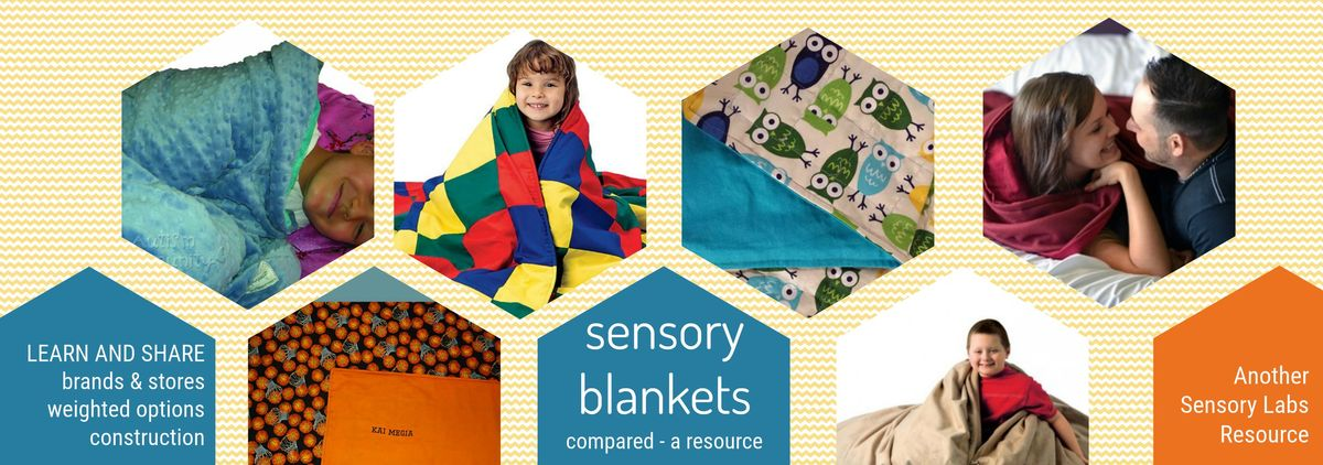 Headline for Sensory Weighted Blankets Compared
