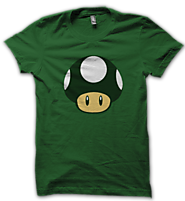 One Up T Shirt Mario Tshirt | Psycho Store