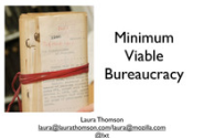 Minimum Viable Bureaucracy