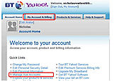 How to Create a New Email Address (BT Yahoo Mail sub-account)