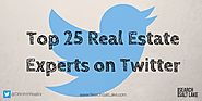 Top 25 Real Estate Experts on Twitter That You Need to Follow