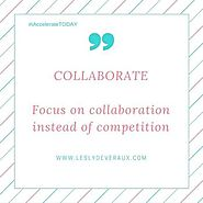 Lesly Devereaux - Power Word of the Week: COLLABORATE