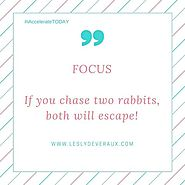 Lesly Devereaux - Power Word of the Week: FOCUS