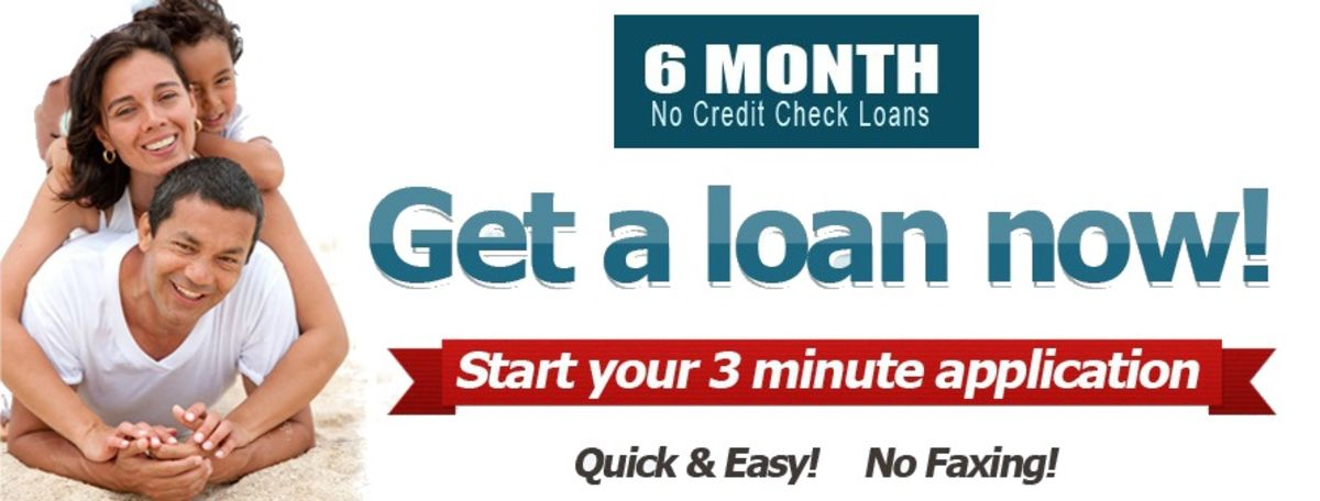 Headline for Manage Your Cash Crisis with 6 Month No Credit Check Loans