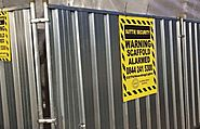 Secure your perimeter with hoarding